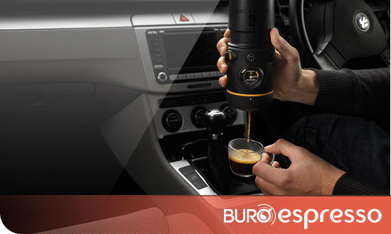 Une machine expresso portable