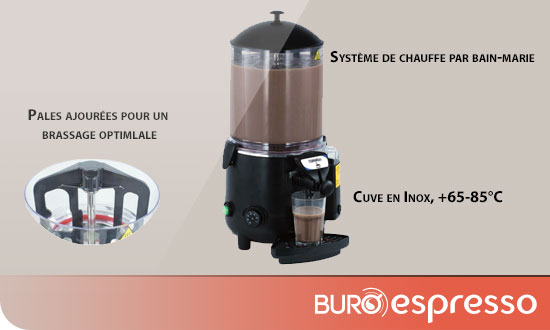 Machine à chocolat Chaud Casselin 10 Litres